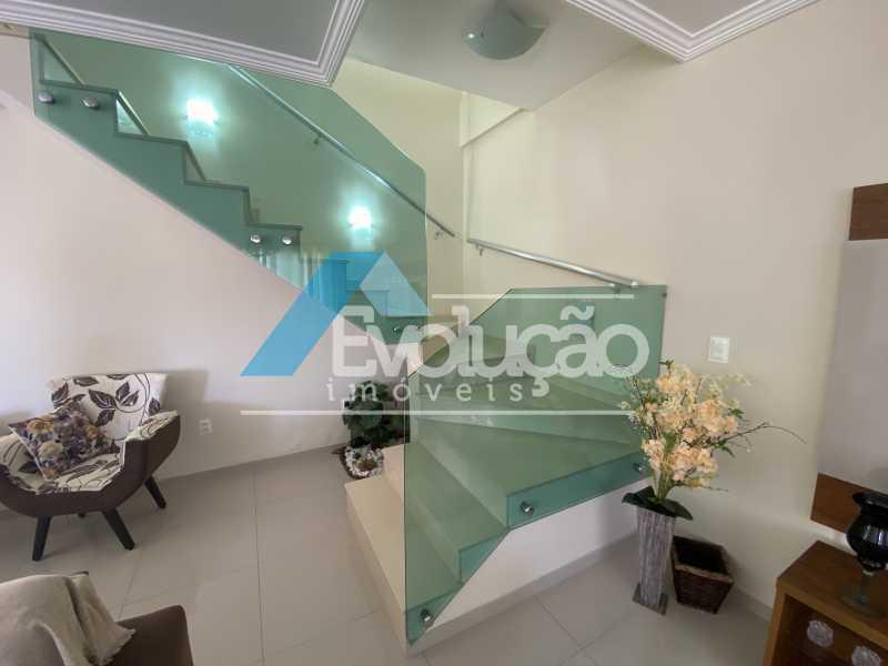 ESCADA - Casa em Condomínio 3 quartos à venda Campo Grande, Rio de Janeiro - R$ 800.000 - V0343 - 1
