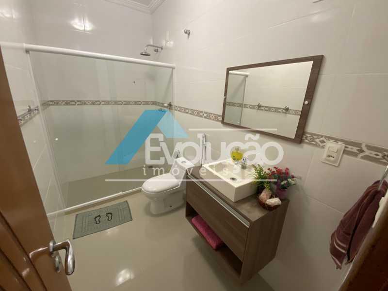 BANHEIRO SOCIAL - Casa em Condomínio 3 quartos à venda Campo Grande, Rio de Janeiro - R$ 800.000 - V0343 - 14
