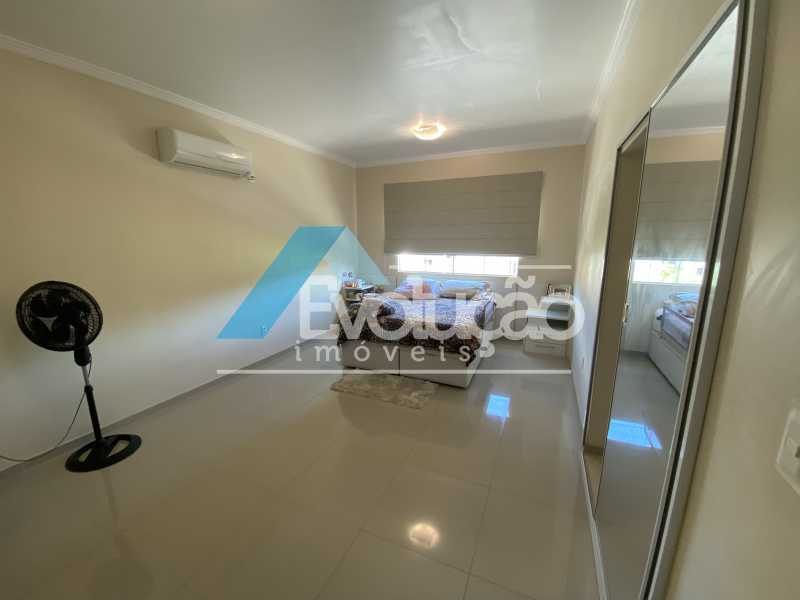 SUÍTE MASTER - Casa em Condomínio 3 quartos à venda Campo Grande, Rio de Janeiro - R$ 800.000 - V0343 - 15