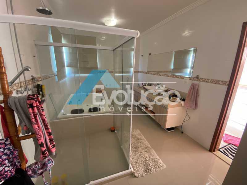 BANHEIRO SUÍTE MASTER - Casa em Condomínio 3 quartos à venda Campo Grande, Rio de Janeiro - R$ 800.000 - V0343 - 18