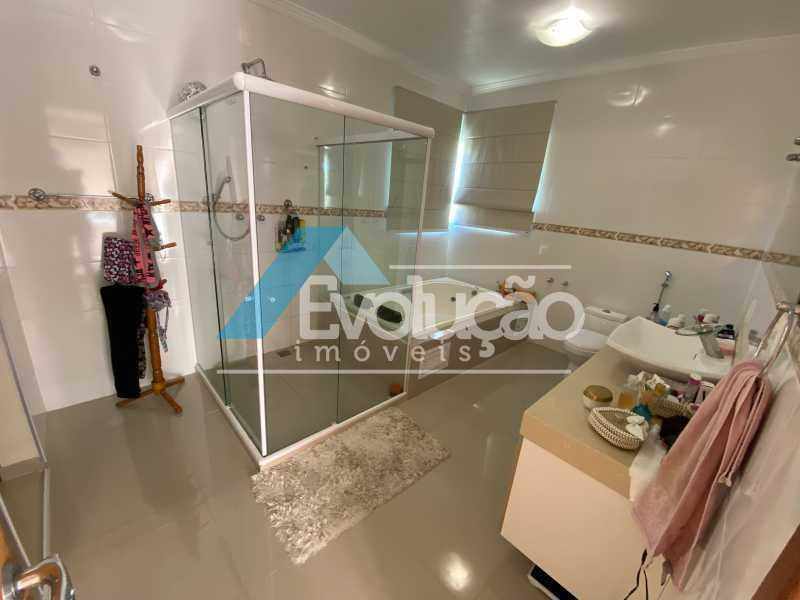 BANHEIRO SUÍTE MASTER - Casa em Condomínio 3 quartos à venda Campo Grande, Rio de Janeiro - R$ 800.000 - V0343 - 19