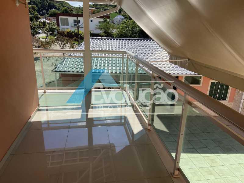 VARANDA SUÍTE MASTER - Casa em Condomínio 3 quartos à venda Campo Grande, Rio de Janeiro - R$ 800.000 - V0343 - 20
