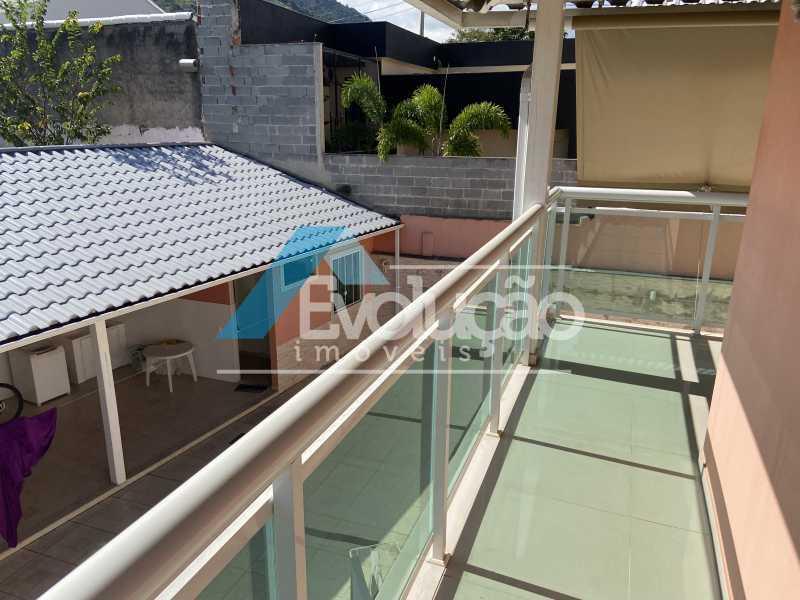 VARANDA SUÍTE MASTER - Casa em Condomínio 3 quartos à venda Campo Grande, Rio de Janeiro - R$ 800.000 - V0343 - 21