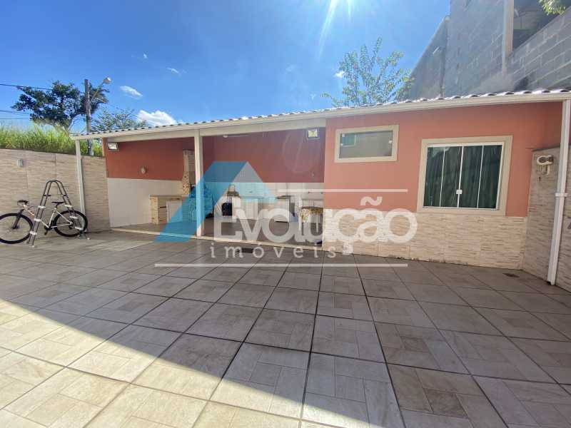 ÁREA GOURMET - Casa em Condomínio 3 quartos à venda Campo Grande, Rio de Janeiro - R$ 800.000 - V0343 - 27