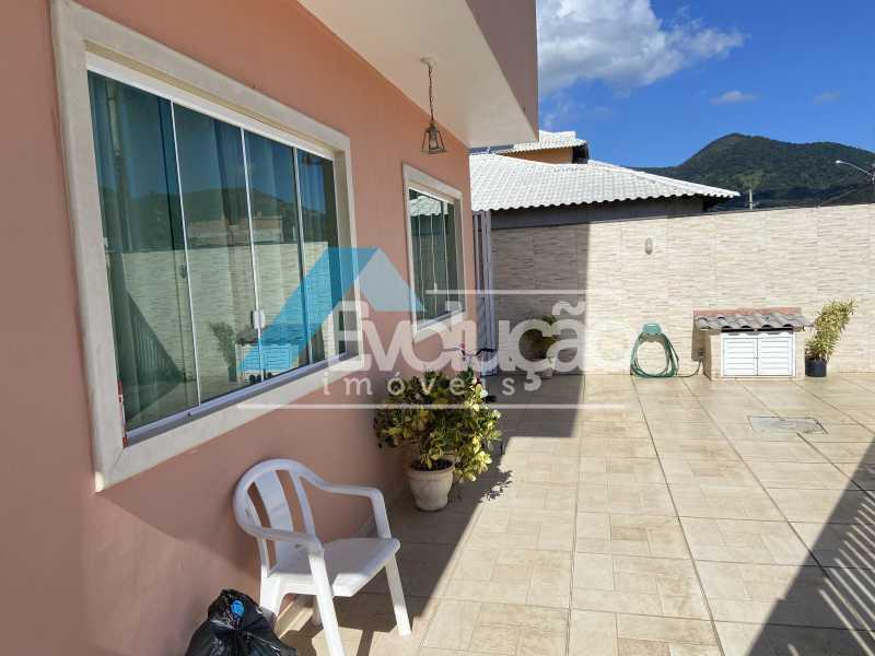 FRENTE DA CASA - Casa em Condomínio 3 quartos à venda Campo Grande, Rio de Janeiro - R$ 800.000 - V0343 - 28