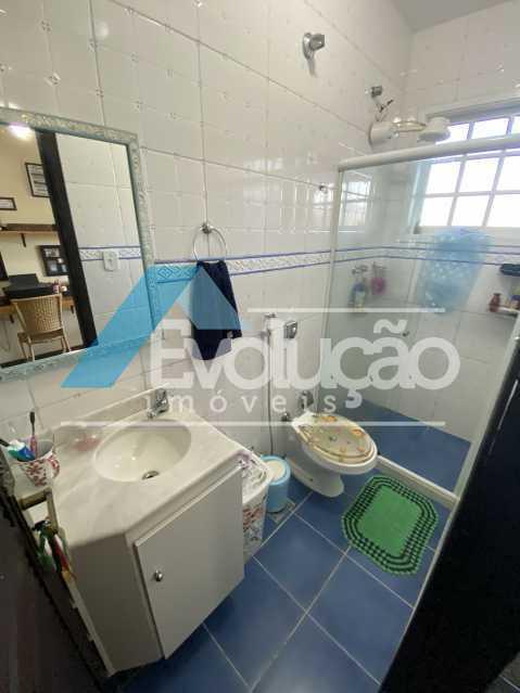 BANHEIRO SOCIAL - Casa em Condomínio 3 quartos para venda e aluguel Campo Grande, Rio de Janeiro - R$ 500.000 - V0347 - 16