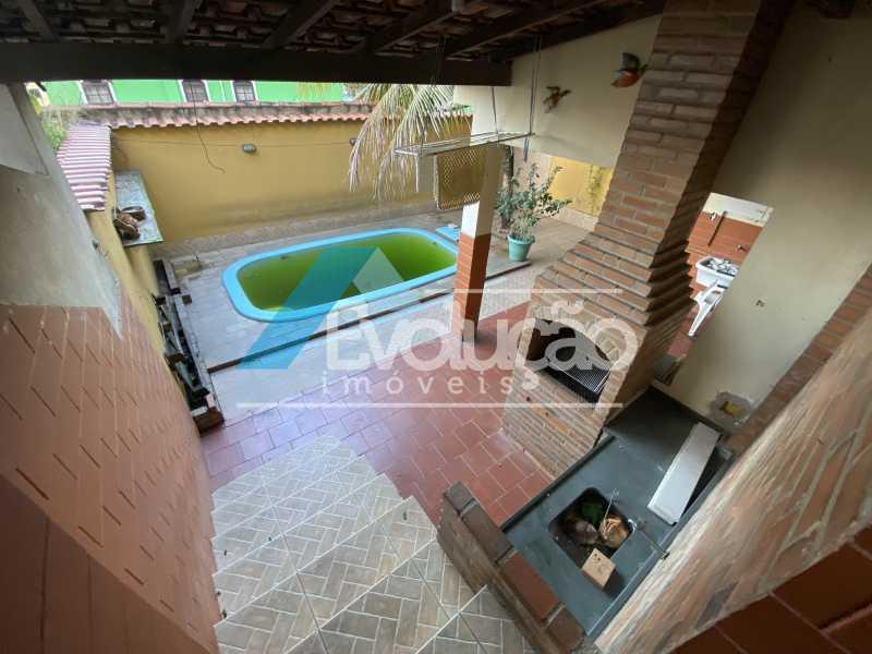 ÁREA GOURMET E PISCINA - Casa em Condomínio 3 quartos para venda e aluguel Campo Grande, Rio de Janeiro - R$ 500.000 - V0347 - 10
