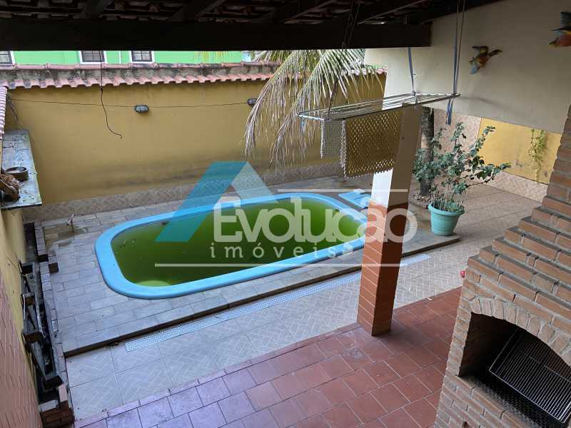 ÁREA GOURMET E PISCINA - Casa em Condomínio 3 quartos para venda e aluguel Campo Grande, Rio de Janeiro - R$ 500.000 - V0347 - 9
