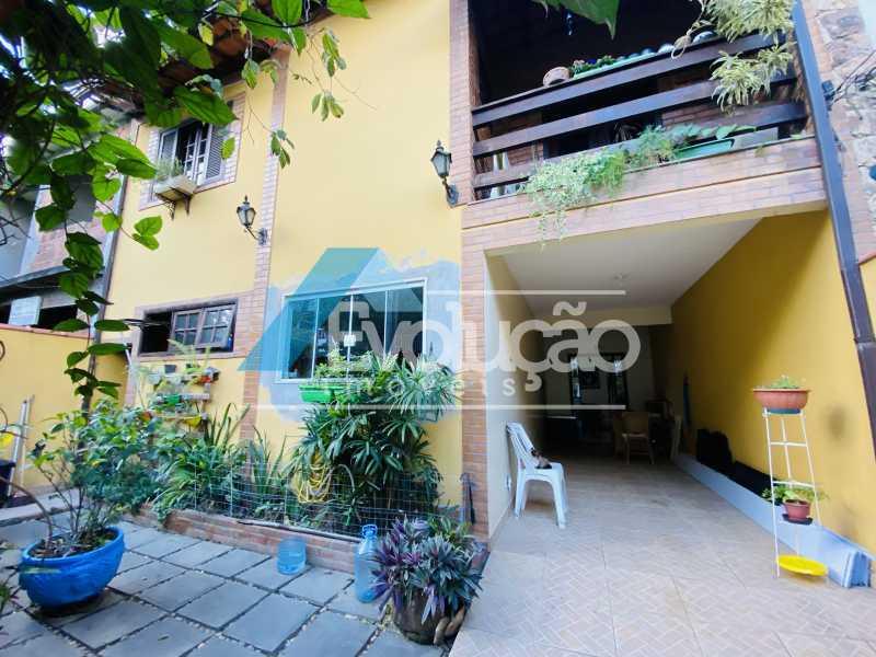 FACHADA - Casa em Condomínio 3 quartos para venda e aluguel Campo Grande, Rio de Janeiro - R$ 500.000 - V0347 - 1