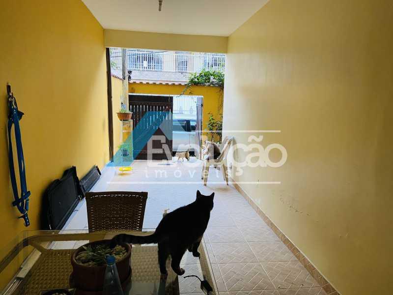 GARAGEM - Casa em Condomínio 3 quartos para venda e aluguel Campo Grande, Rio de Janeiro - R$ 500.000 - V0347 - 5