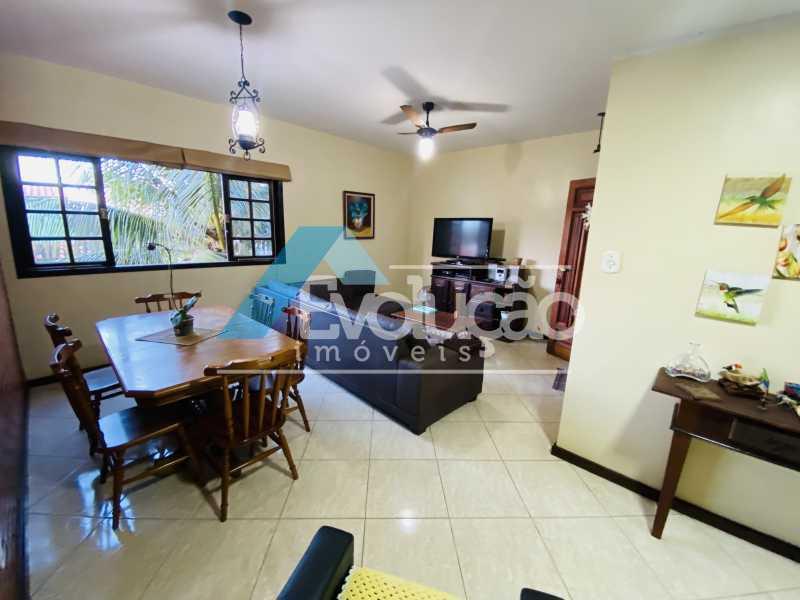 SALA - Casa em Condomínio 3 quartos para venda e aluguel Campo Grande, Rio de Janeiro - R$ 500.000 - V0347 - 21