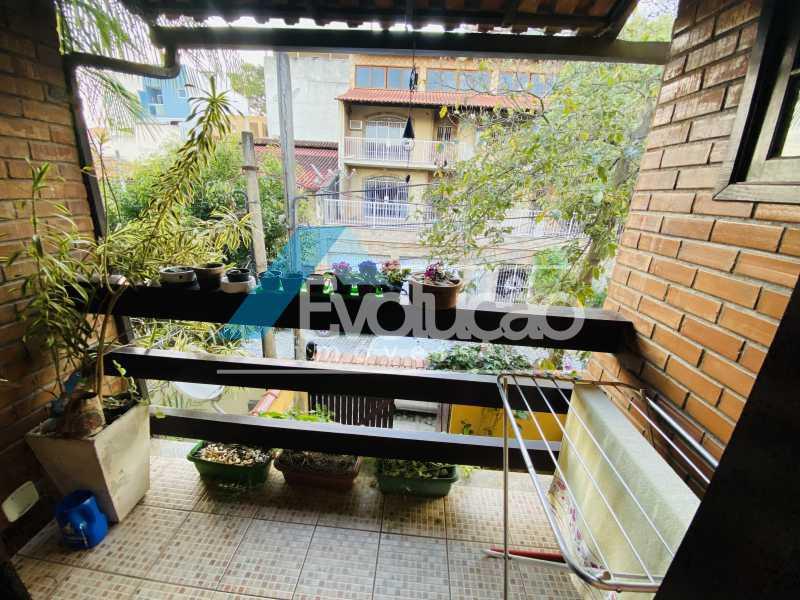 VARANDA DA SUÍTE - Casa em Condomínio 3 quartos para venda e aluguel Campo Grande, Rio de Janeiro - R$ 500.000 - V0347 - 22