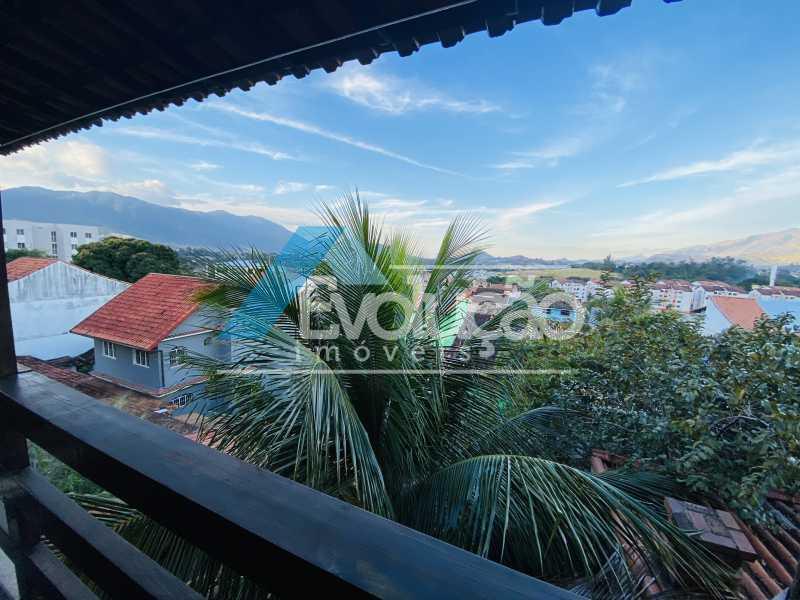 VISTA DA VARANDA - Casa em Condomínio 3 quartos para venda e aluguel Campo Grande, Rio de Janeiro - R$ 500.000 - V0347 - 14