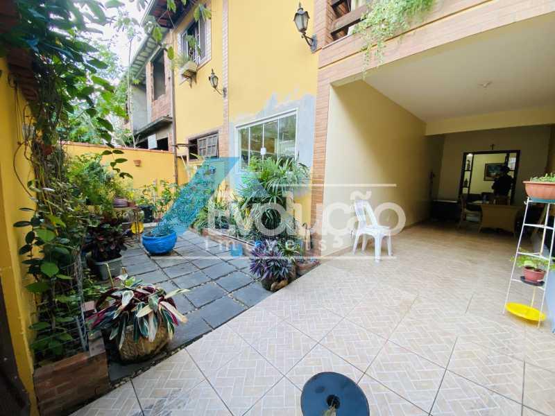 FACHADA - Casa em Condomínio 3 quartos para venda e aluguel Campo Grande, Rio de Janeiro - R$ 500.000 - V0347 - 4