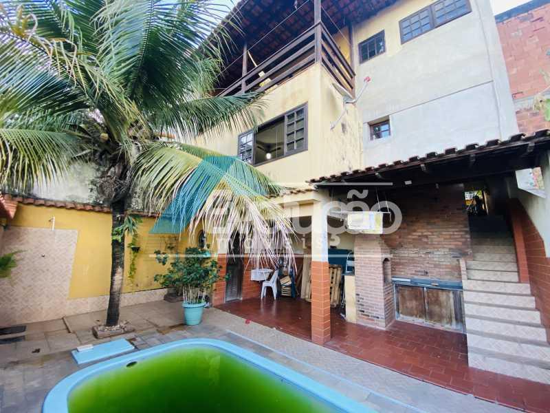 ÁREA GOURMET E PISCINA - Casa em Condomínio 3 quartos para venda e aluguel Campo Grande, Rio de Janeiro - R$ 500.000 - V0347 - 7
