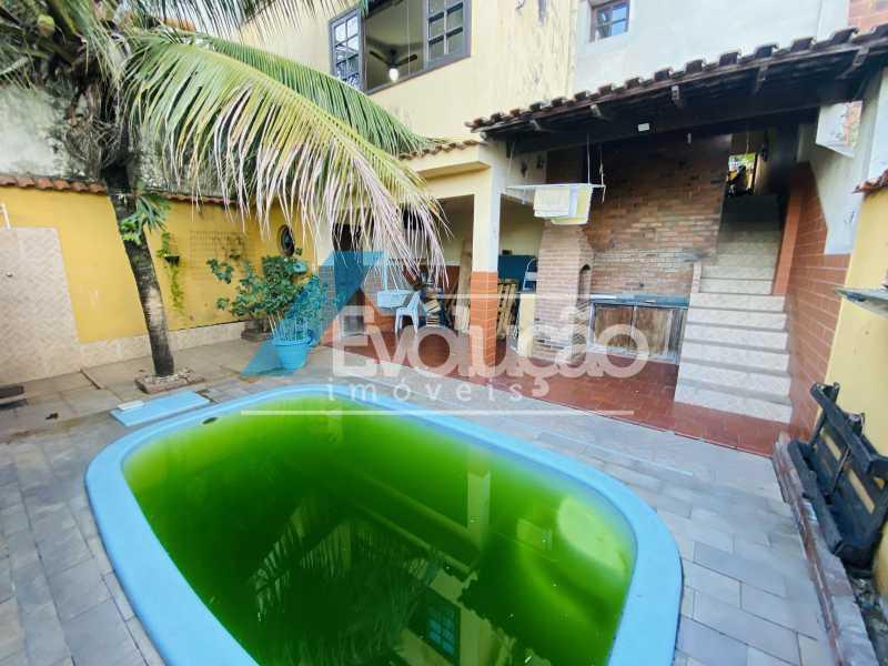 ÁREA GOURMET E PISCINA - Casa em Condomínio 3 quartos para venda e aluguel Campo Grande, Rio de Janeiro - R$ 500.000 - V0347 - 8
