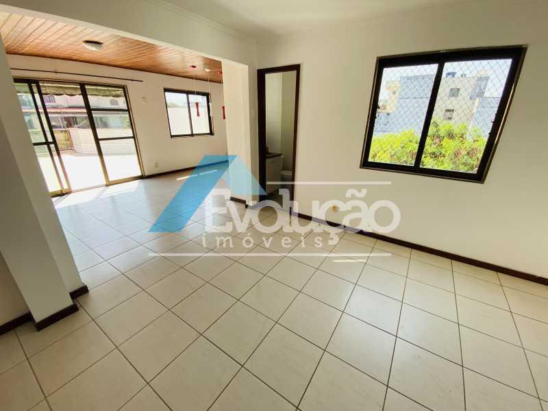 SALA - Cobertura 3 quartos à venda Recreio dos Bandeirantes, Rio de Janeiro - R$ 960.000 - V0348 - 6