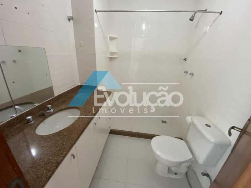 BANHEIRO DA SUÍTE - Cobertura 3 quartos à venda Recreio dos Bandeirantes, Rio de Janeiro - R$ 960.000 - V0348 - 16