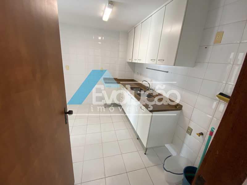 COZINHA - Cobertura 3 quartos à venda Recreio dos Bandeirantes, Rio de Janeiro - R$ 960.000 - V0348 - 24