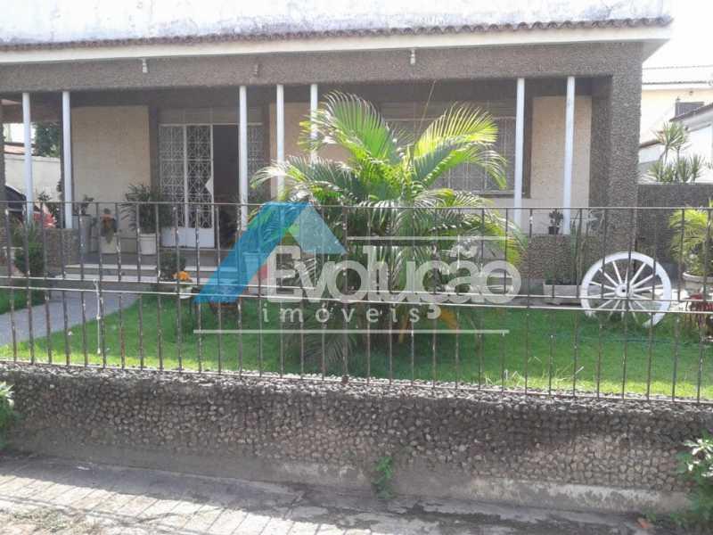 FACHADA - Casa 4 quartos à venda Cosmos, Rio de Janeiro - R$ 420.000 - V0075 - 1