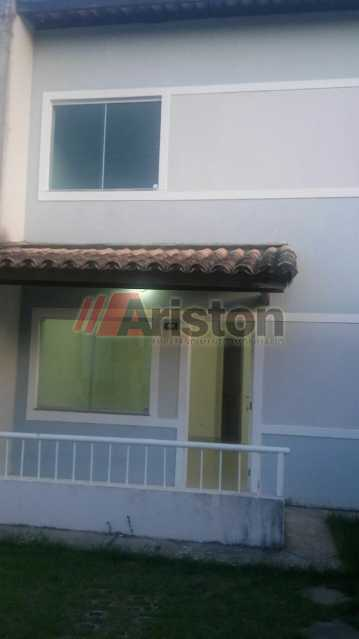 01 - Casa em Condomínio 3 quartos para alugar Centro, Teixeira de Freitas - R$ 1.000 - AECN30013 - 1