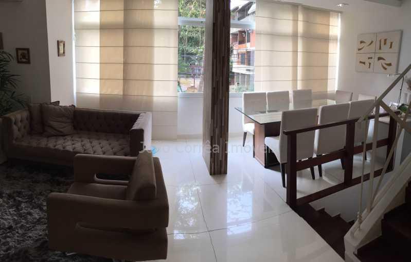 02 - Casa em Condomínio à venda Rua Jornalista Pierre Plancher,Barra da Tijuca, Rio de Janeiro - R$ 1.440.000 - CBCN30006 - 3