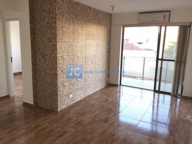 01 - Apartamento à venda Rua Odilon Araújo,Cachambi, Rio de Janeiro - R$ 330.000 - CBAP20165 - 1