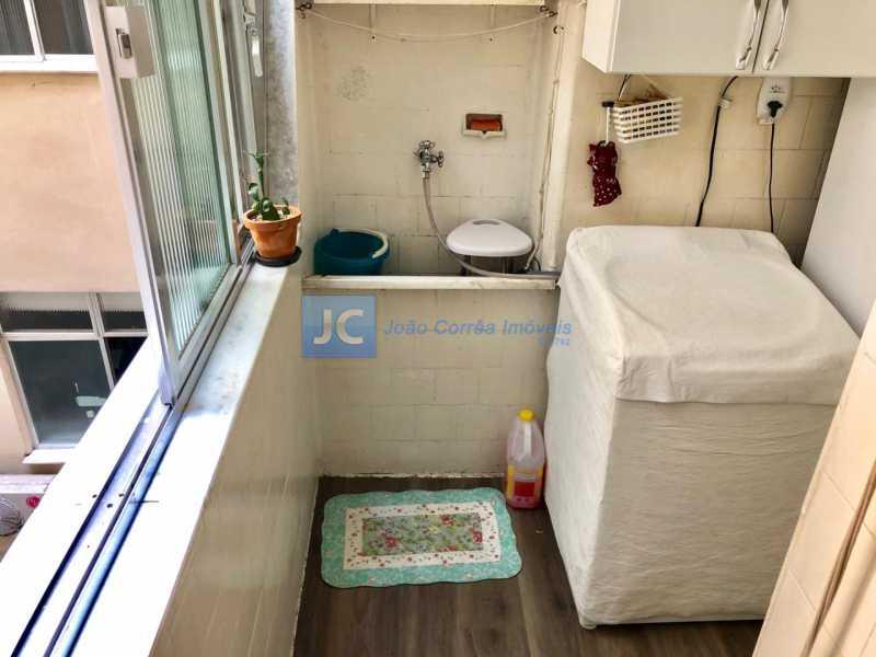 17 - Apartamento à venda Rua Conde de Bonfim,Tijuca, Rio de Janeiro - R$ 475.000 - CBAP30112 - 17