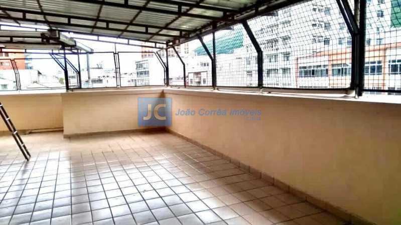 Salao festas 1jpg - Apartamento à venda Rua Conde de Bonfim,Tijuca, Rio de Janeiro - R$ 475.000 - CBAP30112 - 18