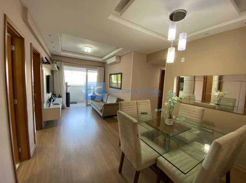 1sala - Apartamento à venda Estrada Benvindo de Novais,Recreio dos Bandeirantes, Rio de Janeiro - R$ 535.000 - CBAP30118 - 1