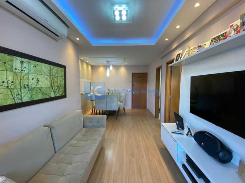 2sala - Apartamento à venda Estrada Benvindo de Novais,Recreio dos Bandeirantes, Rio de Janeiro - R$ 535.000 - CBAP30118 - 3