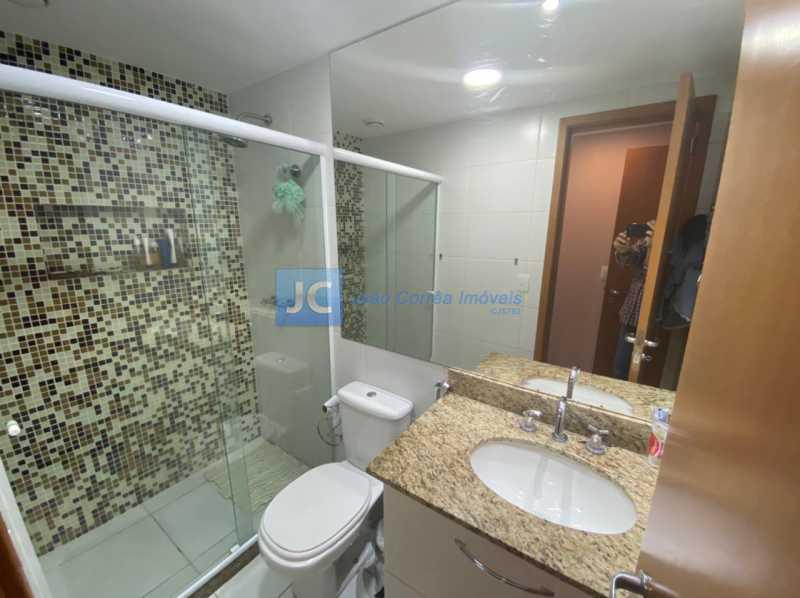 7banheiro suite - Apartamento à venda Estrada Benvindo de Novais,Recreio dos Bandeirantes, Rio de Janeiro - R$ 535.000 - CBAP30118 - 8