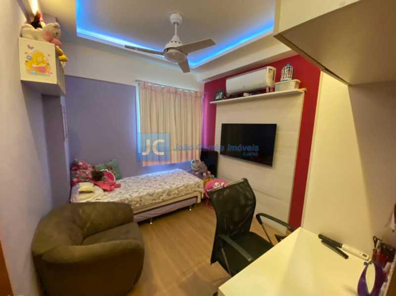9segundo quarto - Apartamento à venda Estrada Benvindo de Novais,Recreio dos Bandeirantes, Rio de Janeiro - R$ 535.000 - CBAP30118 - 9