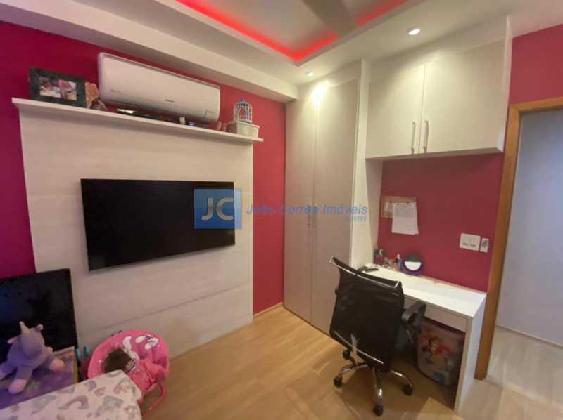 10segundo quarto - Apartamento à venda Estrada Benvindo de Novais,Recreio dos Bandeirantes, Rio de Janeiro - R$ 535.000 - CBAP30118 - 10