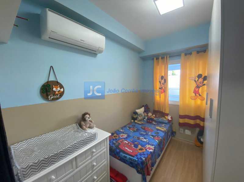 11terceiro quarto - Apartamento à venda Estrada Benvindo de Novais,Recreio dos Bandeirantes, Rio de Janeiro - R$ 535.000 - CBAP30118 - 11