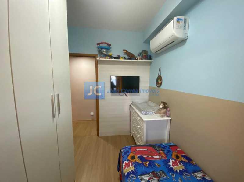 12terceiro quarto - Apartamento à venda Estrada Benvindo de Novais,Recreio dos Bandeirantes, Rio de Janeiro - R$ 535.000 - CBAP30118 - 12