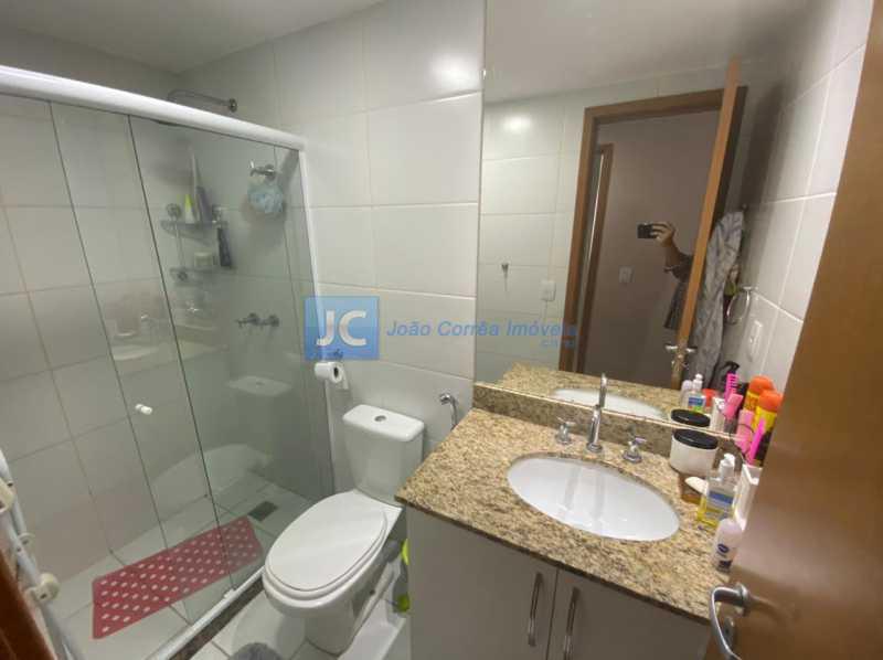 13banheiro social - Apartamento à venda Estrada Benvindo de Novais,Recreio dos Bandeirantes, Rio de Janeiro - R$ 535.000 - CBAP30118 - 13