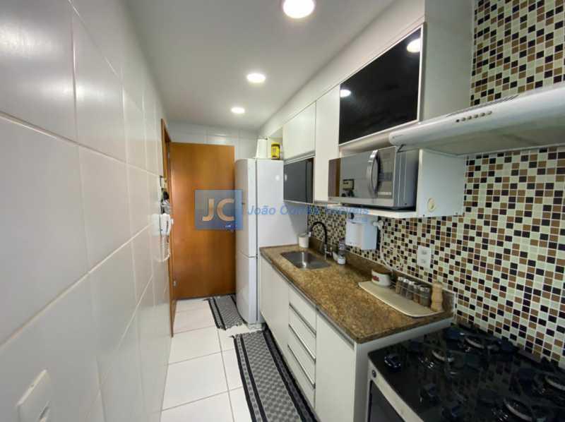 15cozinha - Apartamento à venda Estrada Benvindo de Novais,Recreio dos Bandeirantes, Rio de Janeiro - R$ 535.000 - CBAP30118 - 15