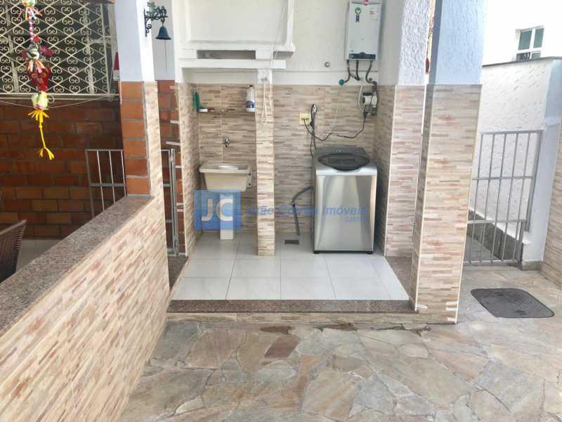 09 - Casa à venda Rua Almirante Ari Parreiras,Rocha, Rio de Janeiro - R$ 660.000 - CBCA40010 - 12