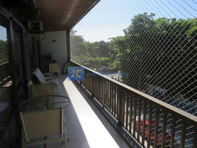 04 - Apartamento à venda Avenida Comandante Júlio de Moura,Barra da Tijuca, Rio de Janeiro - R$ 2.150.000 - CBAP40012 - 6