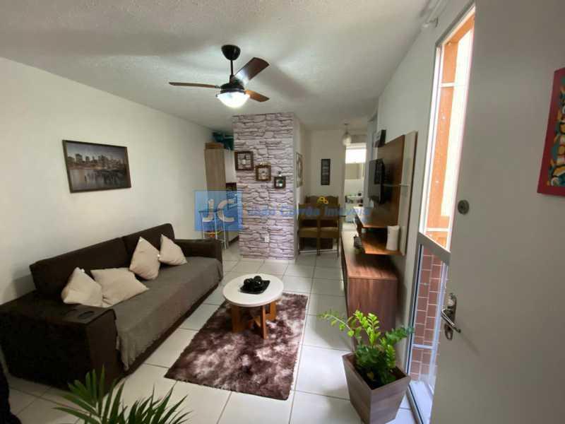 02 - Apartamento à venda Praça Henrique Gonzales,Tomás Coelho, Rio de Janeiro - R$ 165.000 - CBAP20312 - 3