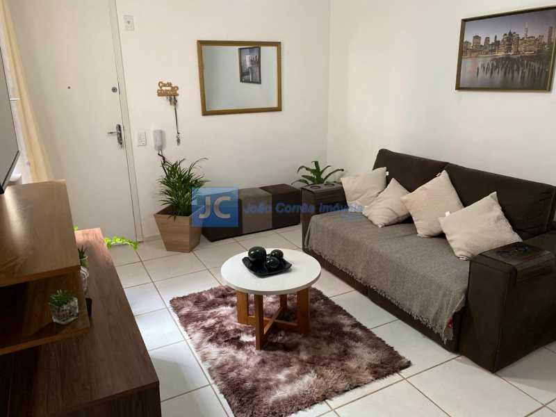03 - Apartamento à venda Praça Henrique Gonzales,Tomás Coelho, Rio de Janeiro - R$ 165.000 - CBAP20312 - 4