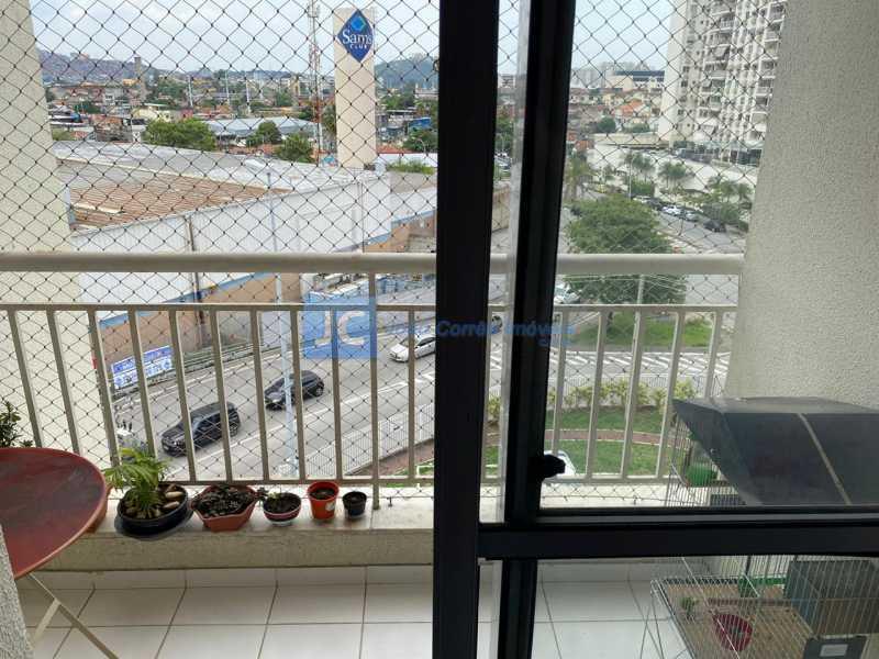 04 - Apartamento 3 quartos à venda Cachambi, Rio de Janeiro - R$ 350.000 - CBAP30138 - 1