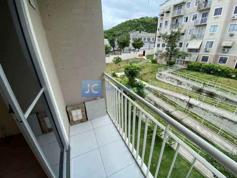 03 - Apartamento à venda Rua Flora Rica,Inhaúma, Rio de Janeiro - R$ 185.000 - CBAP20315 - 4