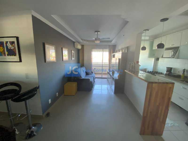 01 - Apartamento à venda Rua Cachambi,Cachambi, Rio de Janeiro - R$ 360.000 - CBAP20324 - 3