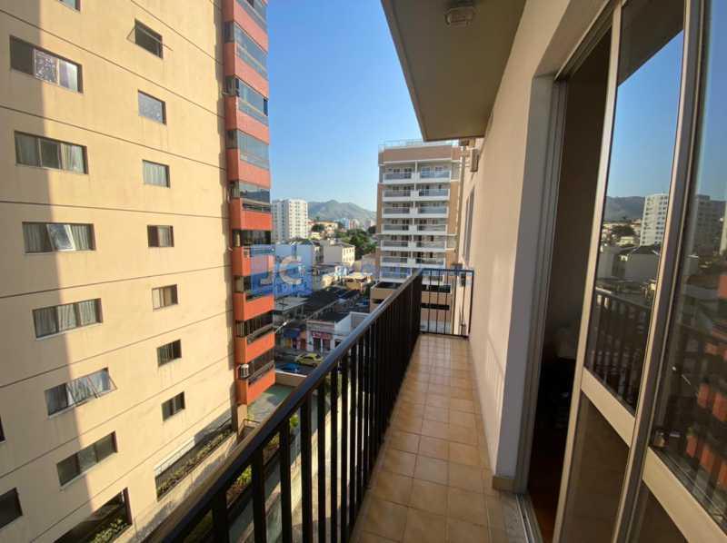 4 varanda - Apartamento à venda Rua José Bonifácio,Cachambi, Rio de Janeiro - R$ 240.000 - CBAP10052 - 5