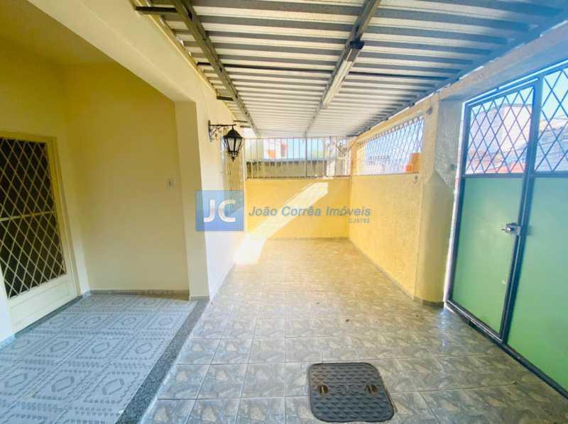 1 Varanda Frente e garagem - Casa à venda Rua Ana Leonidia,Engenho de Dentro, Rio de Janeiro - R$ 550.000 - CBCA40013 - 1
