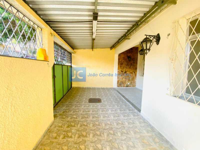 2 Varanda Fte e garagem - Casa à venda Rua Ana Leonidia,Engenho de Dentro, Rio de Janeiro - R$ 550.000 - CBCA40013 - 3