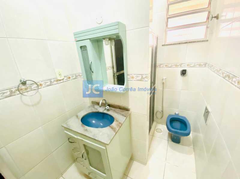 7 Banheiro social - Casa à venda Rua Ana Leonidia,Engenho de Dentro, Rio de Janeiro - R$ 550.000 - CBCA40013 - 8