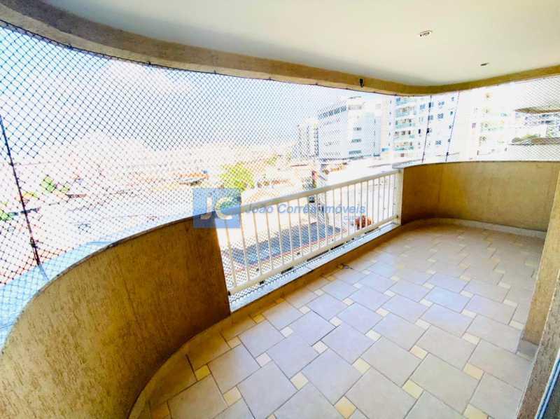 3 Varandão - Apartamento à venda Rua Monte Pascoal,Cachambi, Rio de Janeiro - R$ 400.000 - CBAP20333 - 4